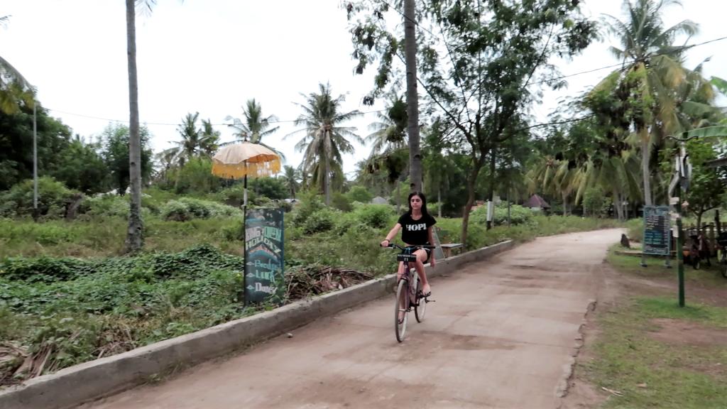 bicicletta gili trawangan