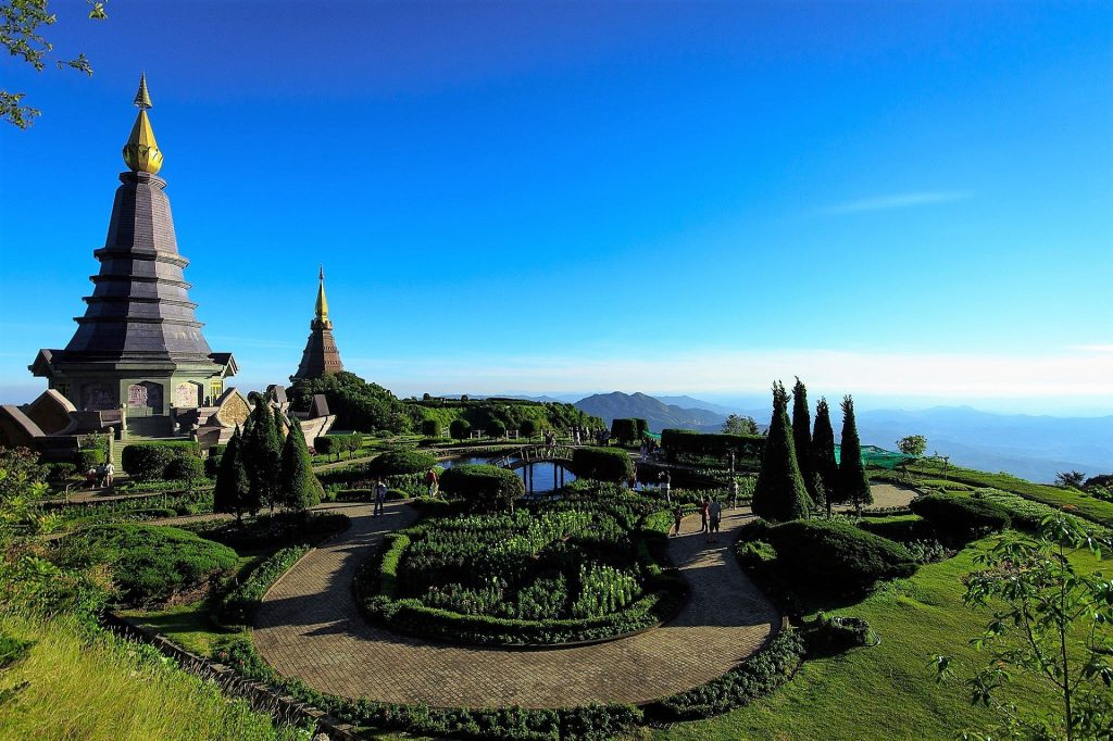 Chiang Mai Chedi_of_Doi_Inthanon