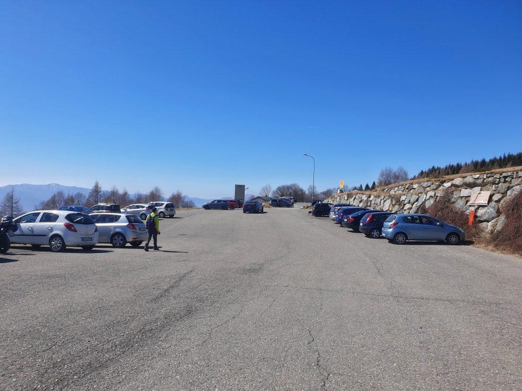 Parcheggio Monte Muggio