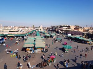 Piazza Jamaa El Fna - Marrakech - Marocco