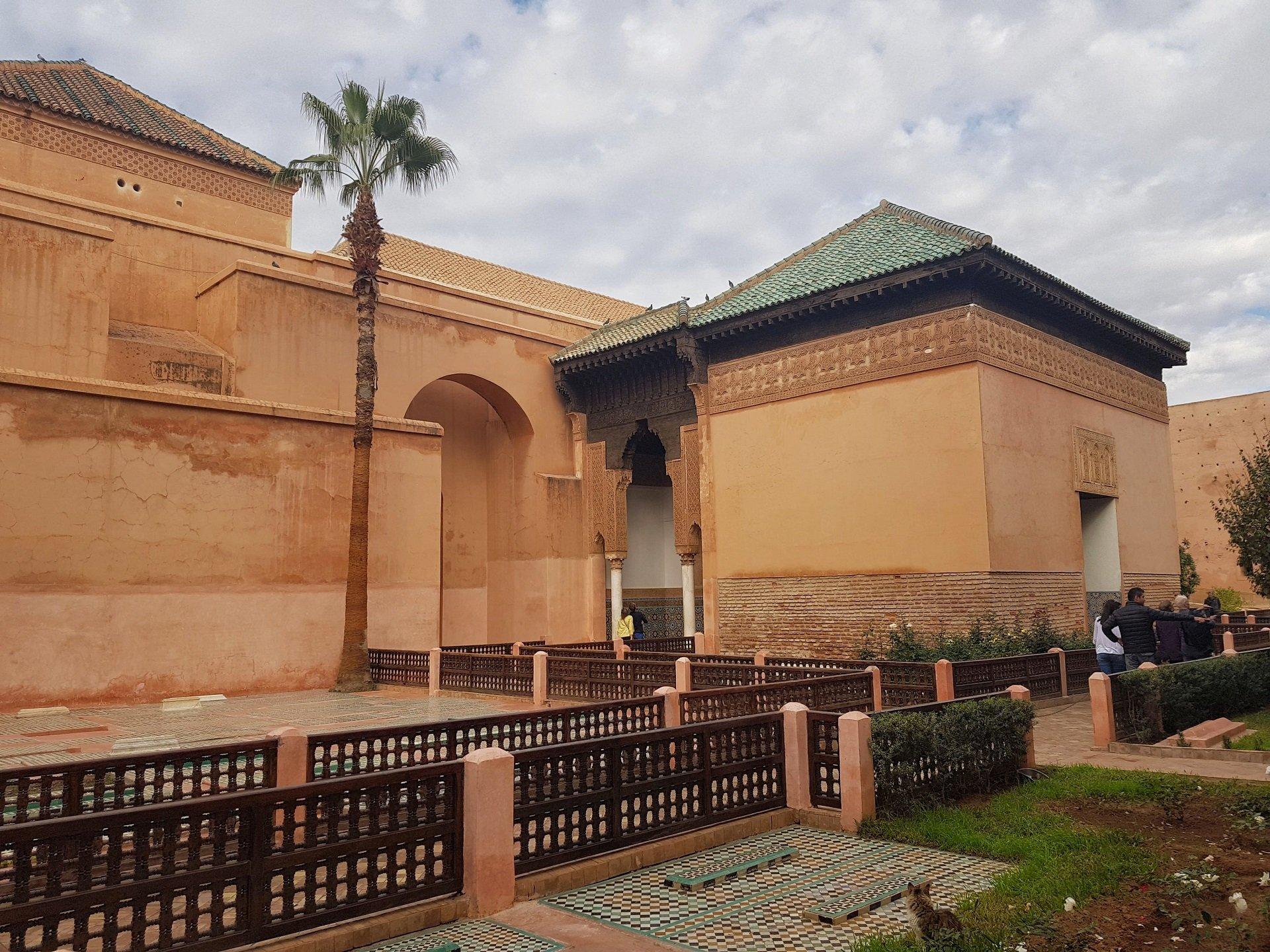 tombe saadiane viaggio in marocco