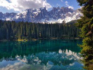 Il Lago di Carezza a Nova Levante – Val d'Ega