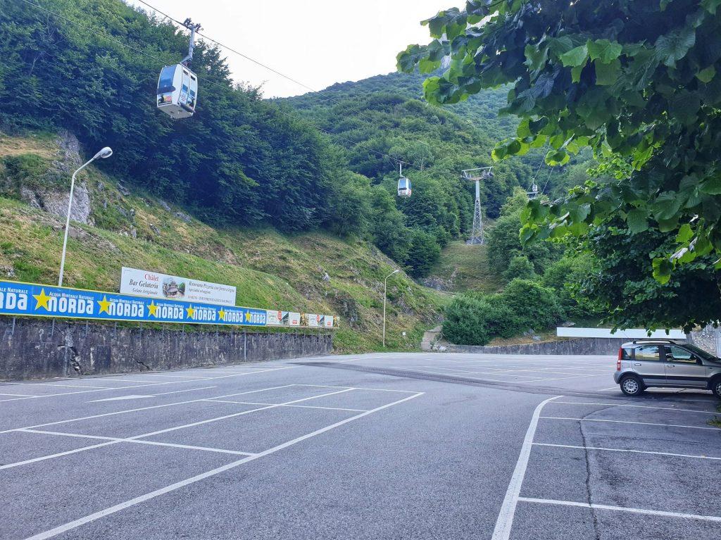 Parcheggio Cabinovia Barzio Lecco