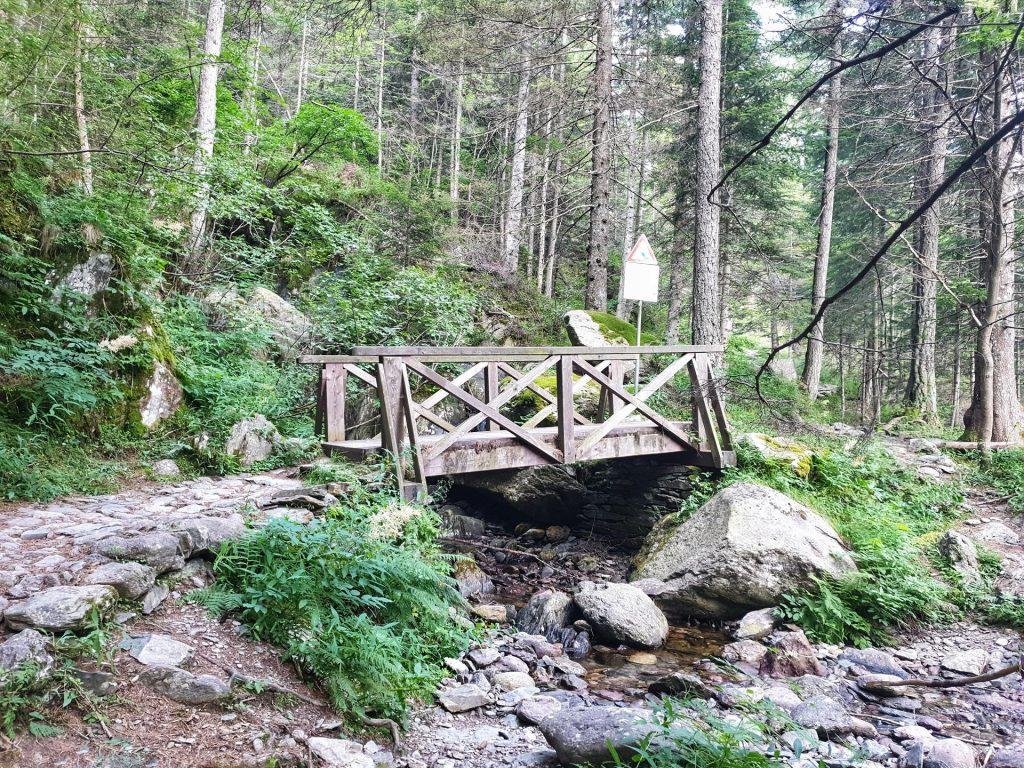 Ponte di legno laghi gemelli