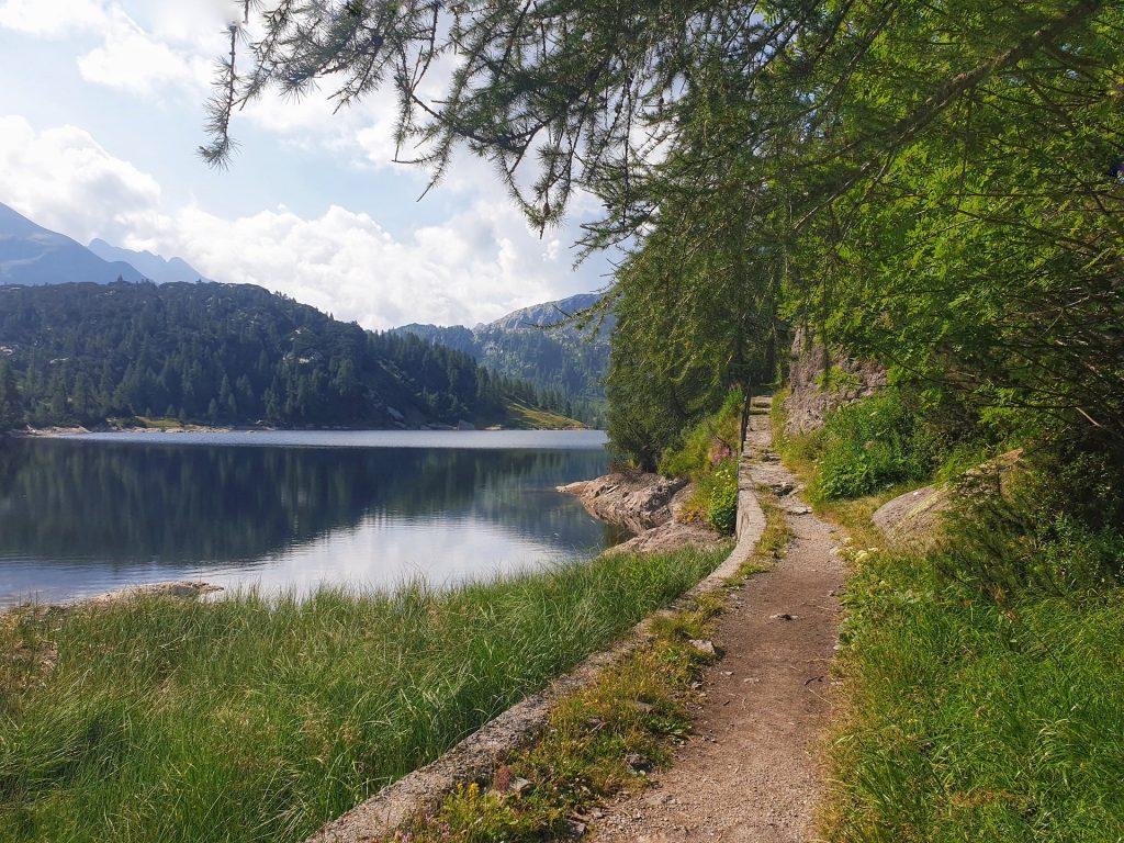lago marcio sentiero