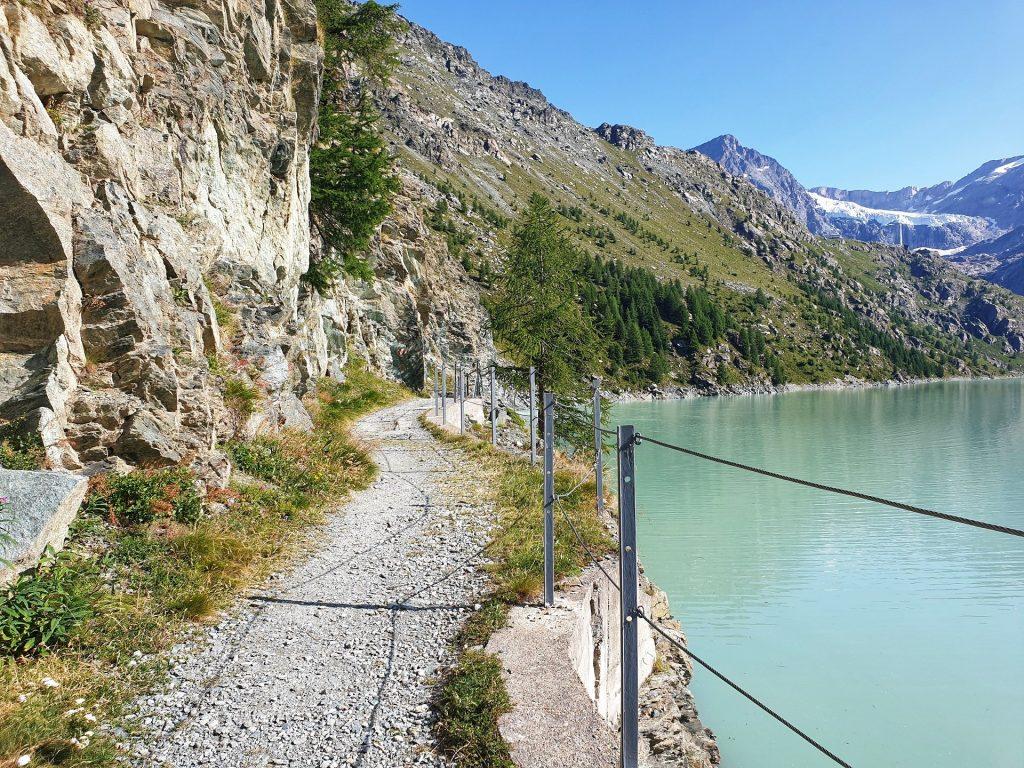 lago di gera sentiero panoramico