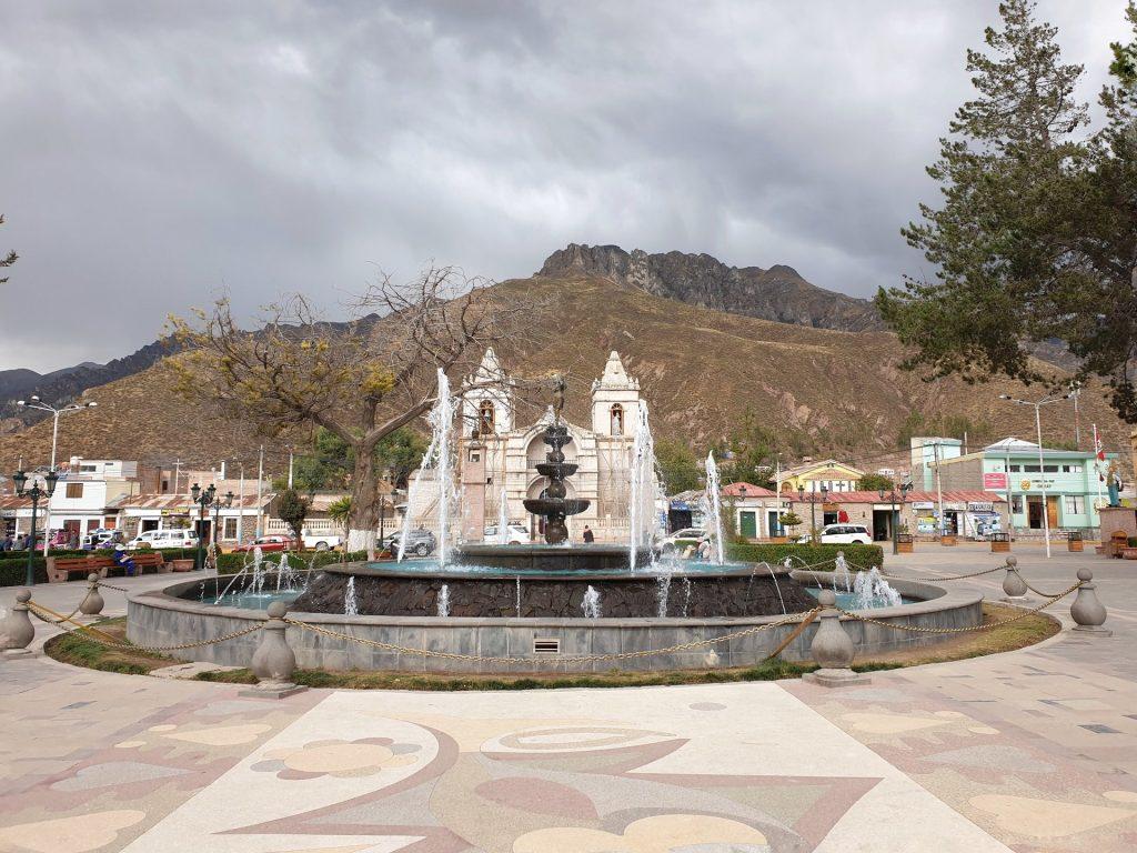 chivay plaza de armas