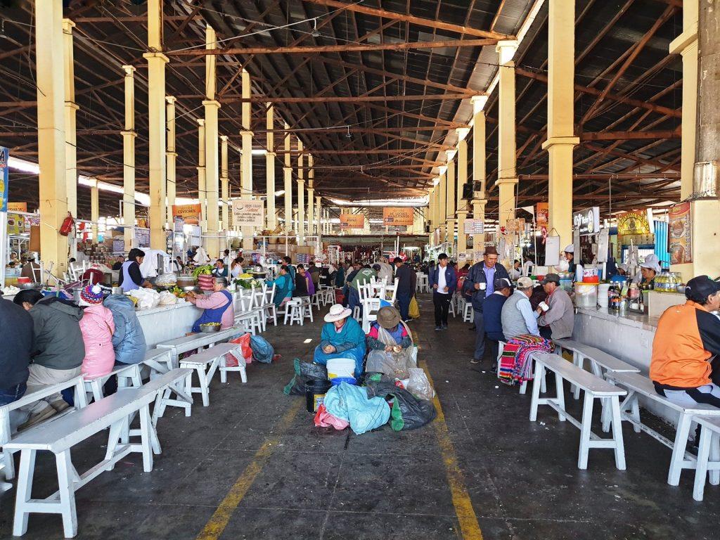 cibo al mercato di casccaparo