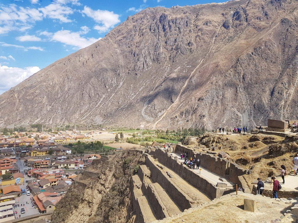 complesso archeologico di ollantaytambo
