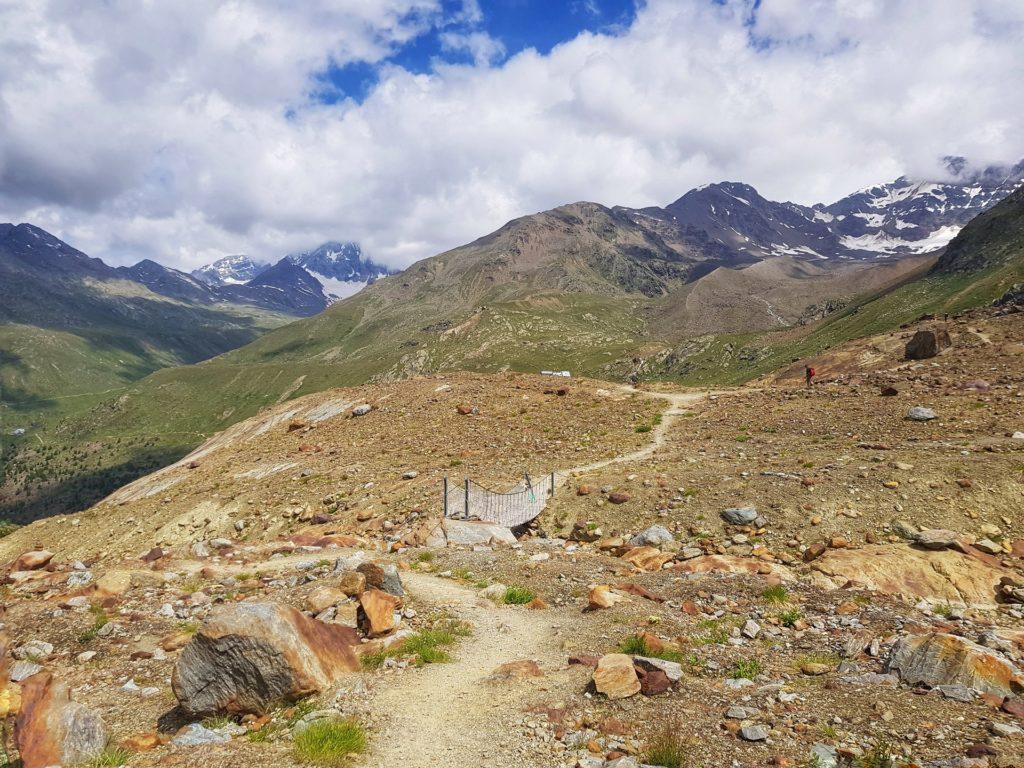 ponti tibetani sentiero glaciologico