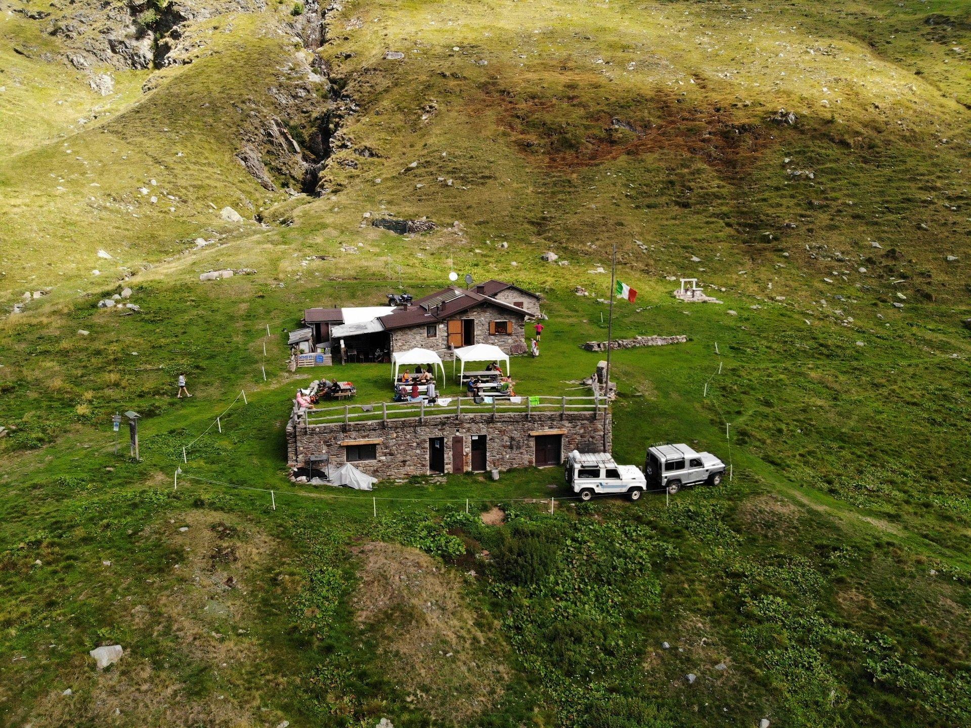 Rifugio Casera Vecchia Val varrone Drone